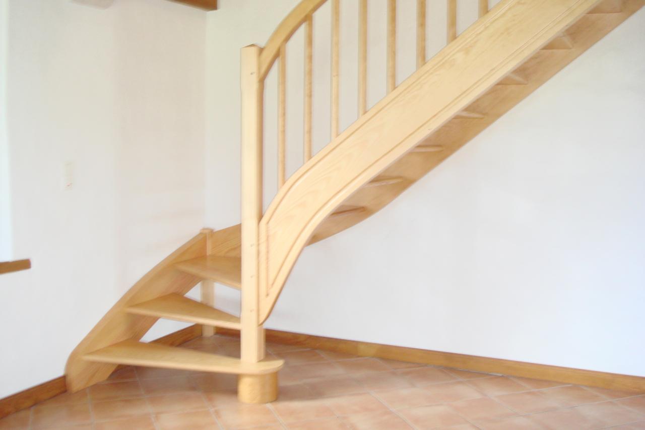 escalier balançé