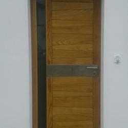 porte d'entrée vitrée