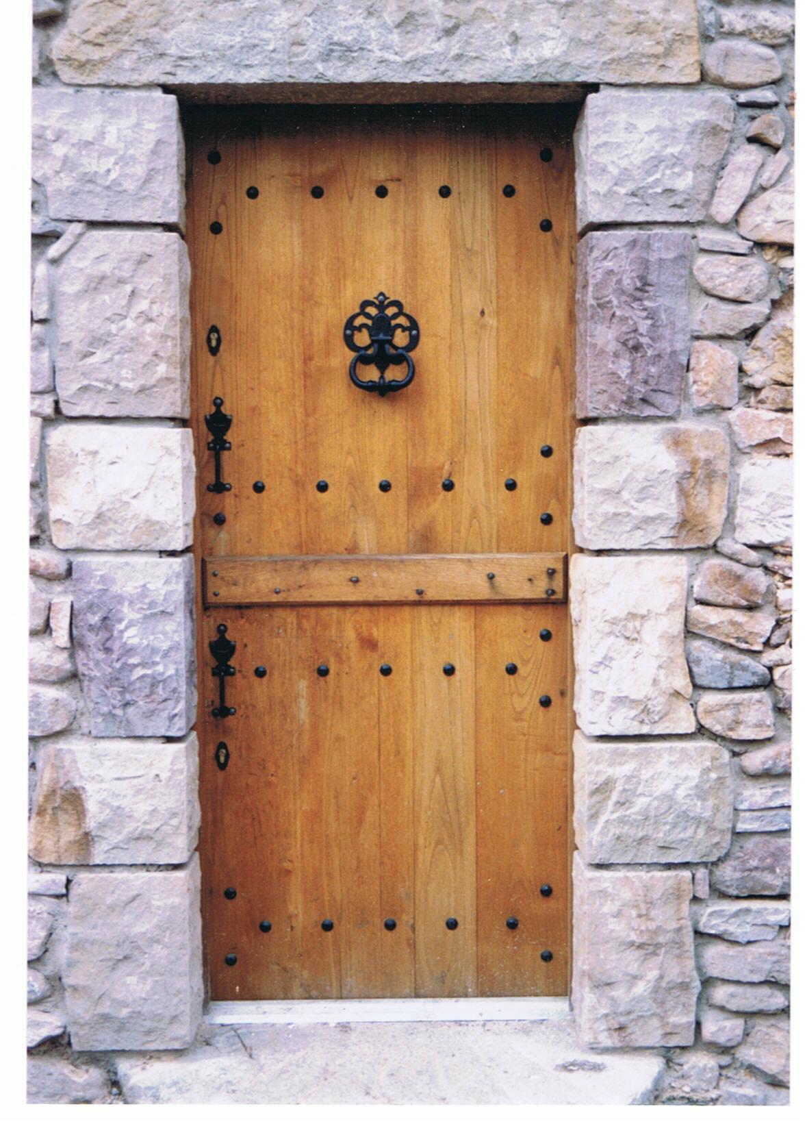 porte d'entrée pleine